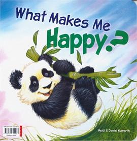 ความสุขของแพนด้าน้อย (เปิดอ่านได้ 2 ด้าน ไทย-อังกฤษ)