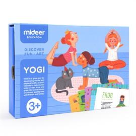 Mideer มิเดียร์  YOGI CARDS การ์ดออกกำลังกายโยคะ