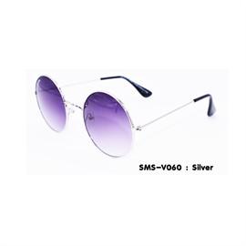 แว่นกันแดดแฟชั่น กรอบสีเงิน (sms-v060)