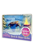 DISNEY PRINCESS BOOK & GLITTER GLOBE