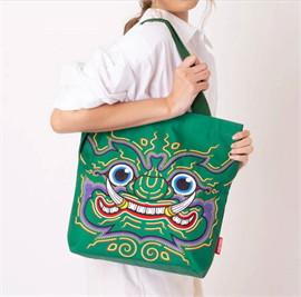 Ramakien Tote Bag - Thotsakan (กระเป๋าถือรามเกียรติ์ ทศกัณฐ์)