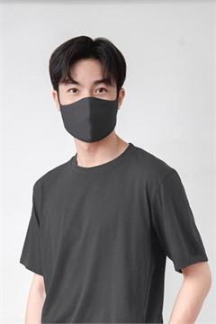GQWhite mask  หน้ากากผ้า สีเทา