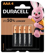 Duracell Coppertop AAA แพ็ค 4 ก้อน