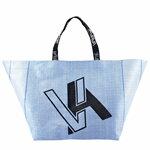 Shopping Bag ผ้าจัมโบ้สีน้ำเงิน