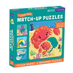 MUDPUPPY OCEAN BABIES I LOVE YOU MATCH-UP PUZZLES