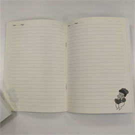Painterbell Note book + Note pad (White)