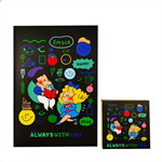Painterbell Note book + Note pad (Black)
