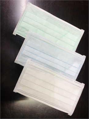 หน้ากากอนามัย แบบ3ชั้นคละสี กล่อง 50ชิ้น