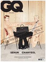 GQ Thailand เซฮุน-ชานยอล EXO-SC ปกแบบ A