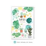 สมุดแพลนเนอร์ ขนาด B6 Weekly Planner 2021 (zip) - Botany