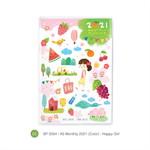 สมุดแพลนเนอร์ขนาด A6 Monthly SP2030SPA6LM mo/20 (Color) - Happy Girl
