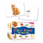 ชุดFirst Words Flash Cards คำศัพท์5หมวดฯ