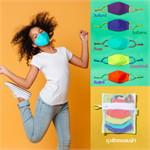เซ็ตหน้ากากผ้าลายCool Colors (ขนาดเล็ก)