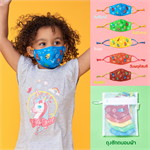 เซ็ตหน้ากากผ้าลายCrayonCharacters(เล็ก)