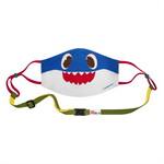 จีคิวหน้ากากผ้าเด็ก Pinkfong Daddy Shark