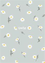 สมุดโน๊ต A5 daisy (เทา)