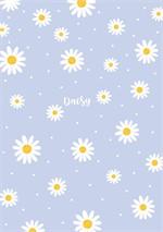 สมุดโน๊ต A5 daisy (ม่วง)