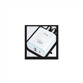 HALE หัวปลั๊กซุปเปอร์ชาร์จ 2พอร์ต PD+USB