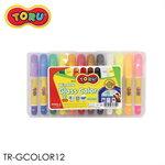 DONG-A TORU Glass Color ปากกาเขียนกระจก 12 สี