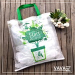 Shopping Bag สีใส Start Go Green