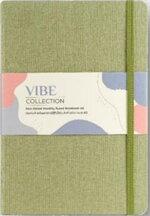 สมุด Planner รุ่น VIBE A5 LINEN NOTEBOOK สีเขียว