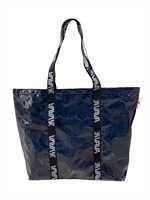 Shopping Bag สีกรมท่า หูวาวาสีดำ