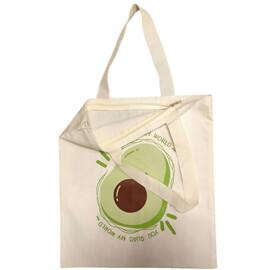 กระเป๋าผ้า My world avocado PN014