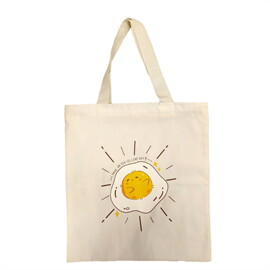 กระเป๋าผ้า Egg cellent day PN011