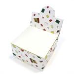 กล่องกระดาษโน๊ตลาย books