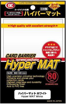 KMC : ซองใส่การ์ด Hyper Mat White