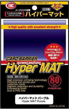 KMC : ซองใส่การ์ด Hyper Mat Purple