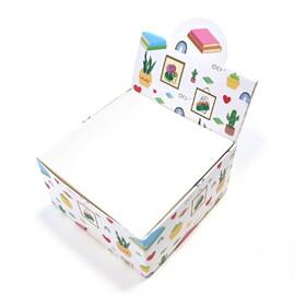 กล่องกระดาษโน๊ตลาย cactus cozy