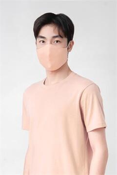 BOGO ซื้อ 1ฟรี1 หน้ากากผ้าสีชมพู+สีฟ้า หน้ากาก GQ