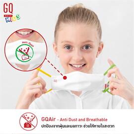 BOGO ซื้อ1ฟรี1หน้ากากเด็กฟ้าแดง+เขียวเหลือง หน้ากาก GQ