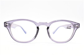 แว่นสายตายาวกรองแสงฟ้ารุ่นRP91ดำใส+1.00