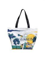 Shopping Bag ซัมเมอร์ทะเล สีเขียวเหลือง
